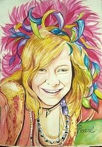 Janis Joplin by pinupgirl2b